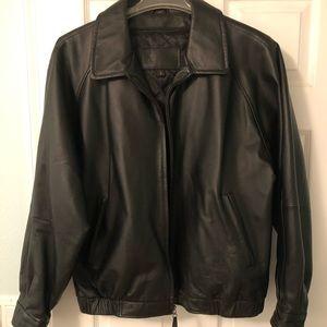 St. John's Bay Men's Leather Jacket